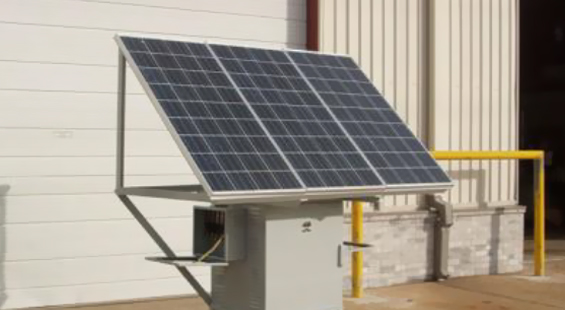Solar Power CP System